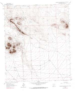 Grandmother Mountain East USGS topographic map 32108c1