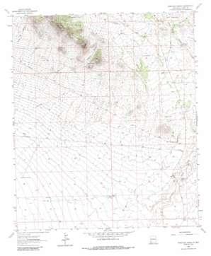 Ninetysix Ranch topo map