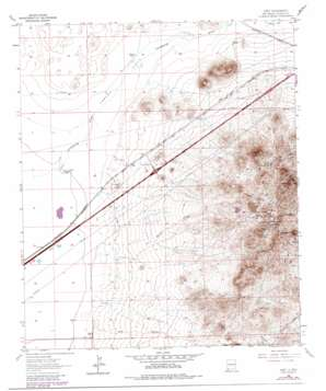 Gary topo map
