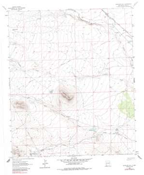 Antelope Hill USGS topographic map 32108d1