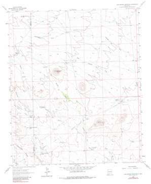 Cow Springs Mountain topo map