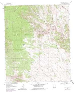 C Bar Ranch topo map