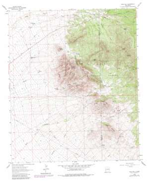 Gold Hill topo map