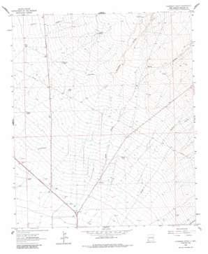 Culberson Ranch topo map