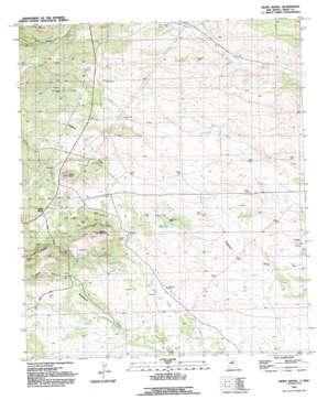 White Signal topo map