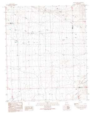 Willow Draw topo map
