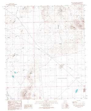 Rock Tank Draw topo map
