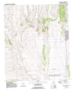 Hurley West topo map