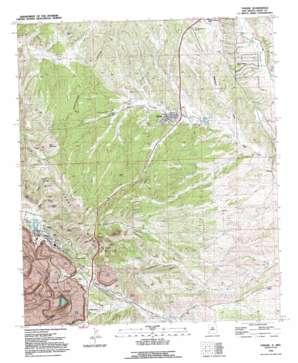 Tyrone topo map