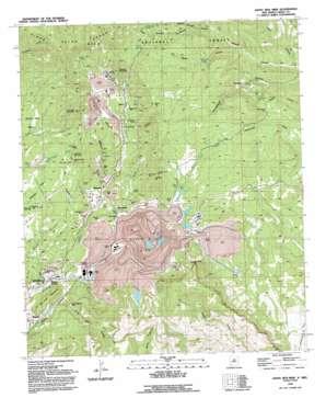 Santa Rita topo map