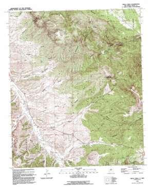 Circle Mesa topo map