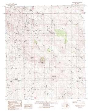Steeple Rock topo map