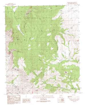 Crookson Peak topo map
