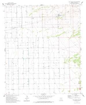 Dos Cabezas Sw topo map