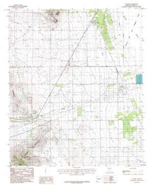 Cochise topo map
