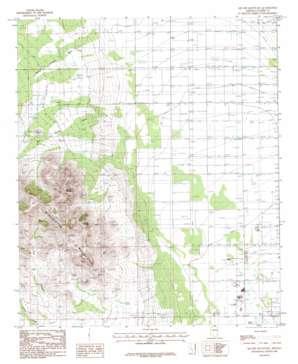 Square Mountain topo map