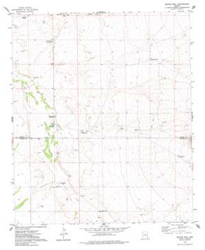 Martin Well topo map