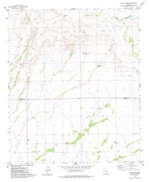 Ryan Draw topo map