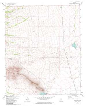 Fisher Hills topo map