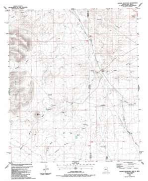 Round Mountain USGS topographic map 32109e1