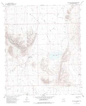 Whitlock Cienega topo map