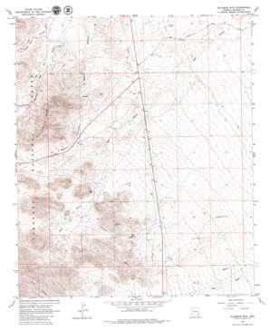 Gillespie Mountain USGS topographic map 32109e6