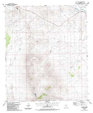 Hot Well topo map