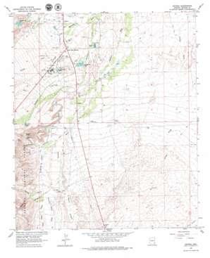 Artesia topo map
