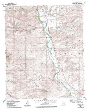 Sheldon topo map