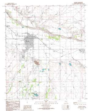 Safford USGS topographic map 32109g6