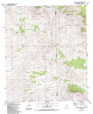 Tillie Hall Peak topo map
