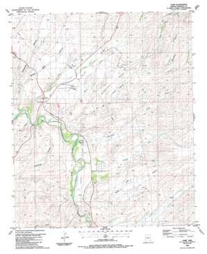York topo map