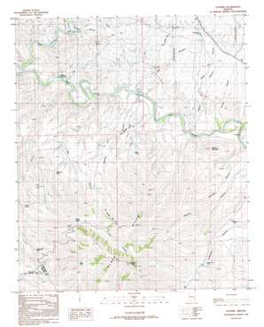 Guthrie topo map
