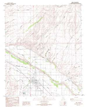 Pima USGS topographic map 32109h7