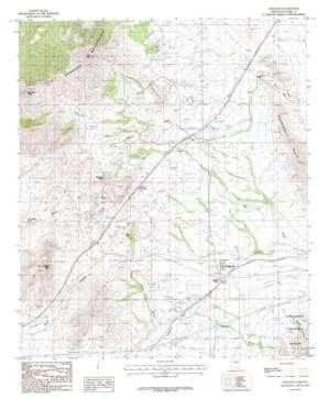 Dragoon topo map