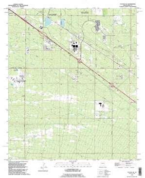 Tucson Se topo map