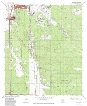 Tucson SW USGS topographic map 32110a8