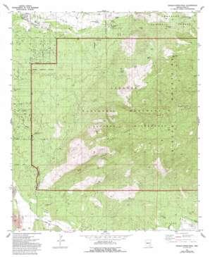Tanque Verde Peak USGS topographic map 32110b6