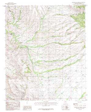 Hookers Hot Springs topo map