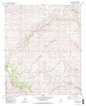 Soza Mesa USGS topographic map 32110c3