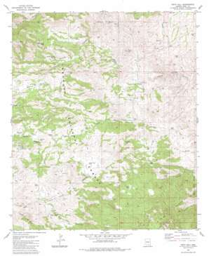 Piety Hill topo map