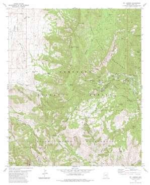 Mount Lemmon topo map