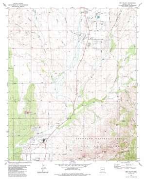Oro Valley topo map