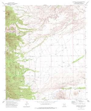 Harrison Canyon USGS topographic map 32110e2