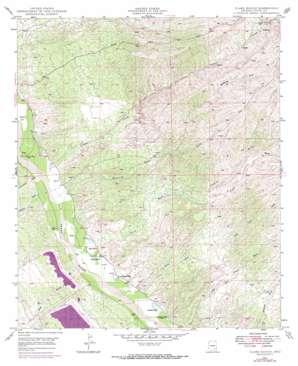 Clark Ranch topo map