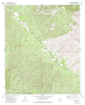 Klondike topo map