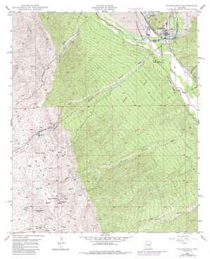 Winkelman topo map