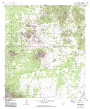 San Pedro topo map
