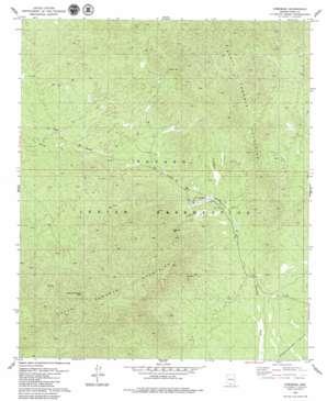 Comobabi topo map