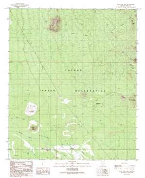 Koht Kohl Hill topo map